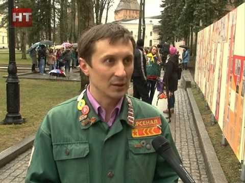 К работе по благоустройству воинских захоронений присоединились участники патриотических акций