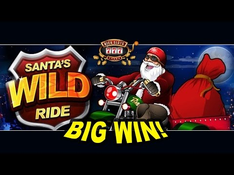 BIG WIN on Santa's Wild Ride Slot - £1.80 Bet