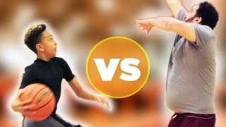 Video Kid Basketball Pro Vs. Adults MP3, 3GP, MP4, WEBM, AVI, FLV Februari 2019