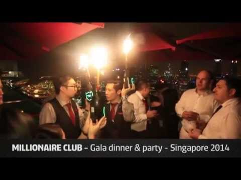 WORlD   Millionaire Club Singapore 2014   Gala Dinner & Party