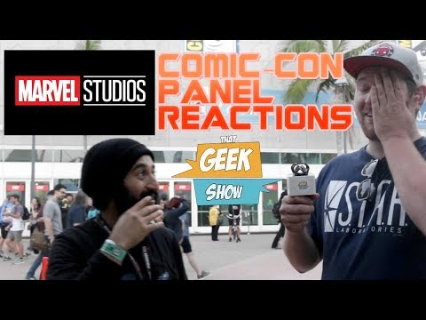Marvel Comic-Con Panel Reactions!