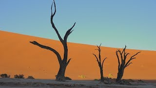 Aerial views from the Namib-Naukluft National Park, Namibia, and views from walking around some of its most popular areas:...