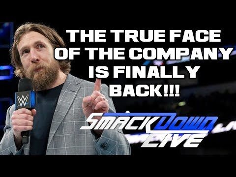 WWE Smackdown Live 3/20/18 Full Show Review: DANIEL BRYAN CLEARED FOR WWE RETURN & ITS FANTASTIC