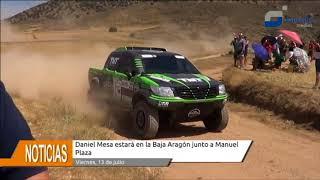 Daniel Mesa estará junto a Manuel Plaza en la Baja Aragón