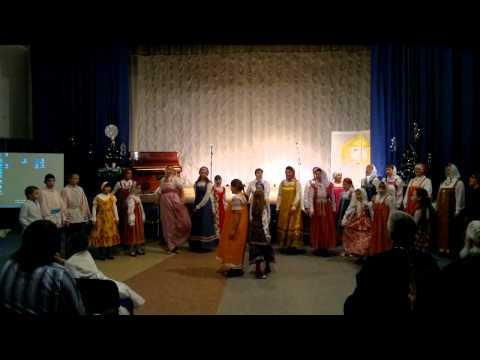 Рождественский праздник г. Кириши часть 6 (видео)