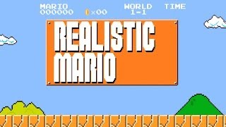 Realistic Super Mario: Brick Block