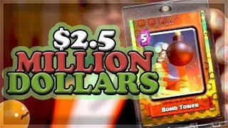 Video This Costs 💲2.5 Million Dollars...   Clash Royale 🍊 MP3, 3GP, MP4, WEBM, AVI, FLV April 2019