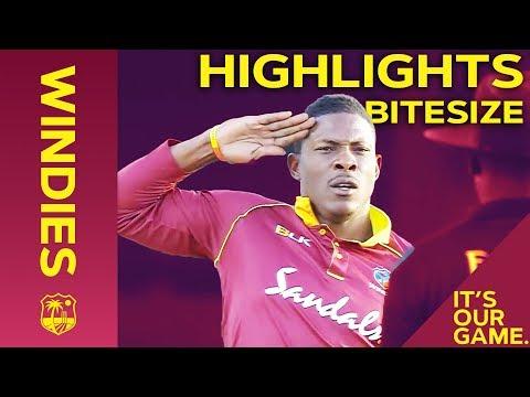 Windies vs England 1st T20I 2019 | Bitesize Highlights - Thời lượng: 2 phút, 21 giây.