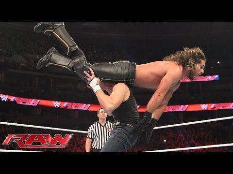 Team Reigns vs. Team Rollins - 5-on-5 Survivor Series Elimination Match: Raw, Nov. 2, 2015