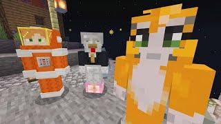 Minecraft - Space Den - Making Friends (7)
