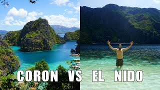 Coron Philippines  City new picture : EL NIDO VS CORON THE PHILIPPINES