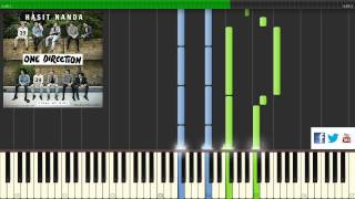 One Direction - STEAL MY GIRL (Piano Tutorial + SHEETS)