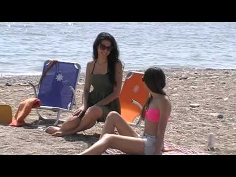 FORMAMARINE beach chairs backstage shooting Summer 2014
