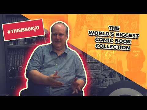 comic book - Promo made for thisisguavo about Bob Bretall and his comic book collection, July 2013 Editing: Kelly Clapton (www.woebegoneproductions.co.uk) Videography: Mi...