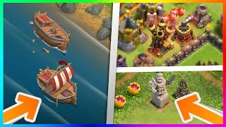 Video OMG! NEW UPDATE LEAKED?! REPAIRABLE SHIPWRECK, KING STATUE, NEW DEFENSE LEVELS! CLASH OF CLANS LEAK! MP3, 3GP, MP4, WEBM, AVI, FLV Juni 2017