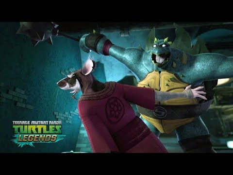 Slash Injured Splinter - Teenage Mutant Ninja Turtles Legends