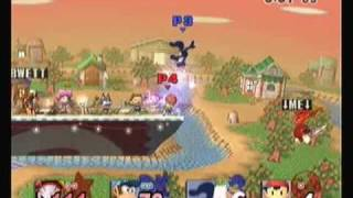 Diddy Kong + G&W Freeze Glitch