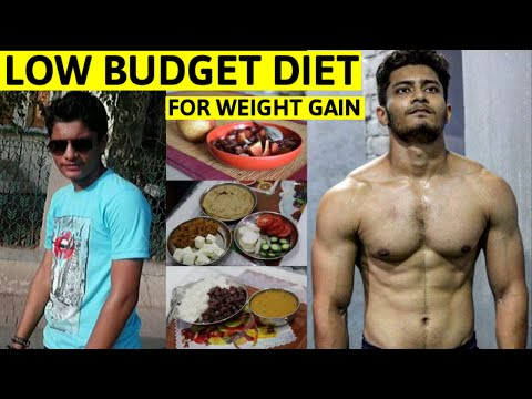 10 Kg Weight Gain Diet - Low Budget | Full Day of Eating - Low Budget Diet Plan for Weight Gain 🇮🇳