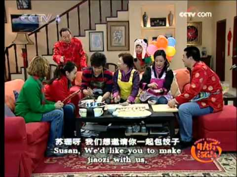Happy Chinese, Episode 3, Dumplings (Learning Chinese Series)