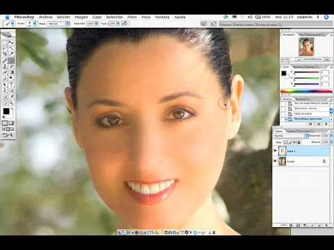 Photoshop: Técnica de retoque de la piel.