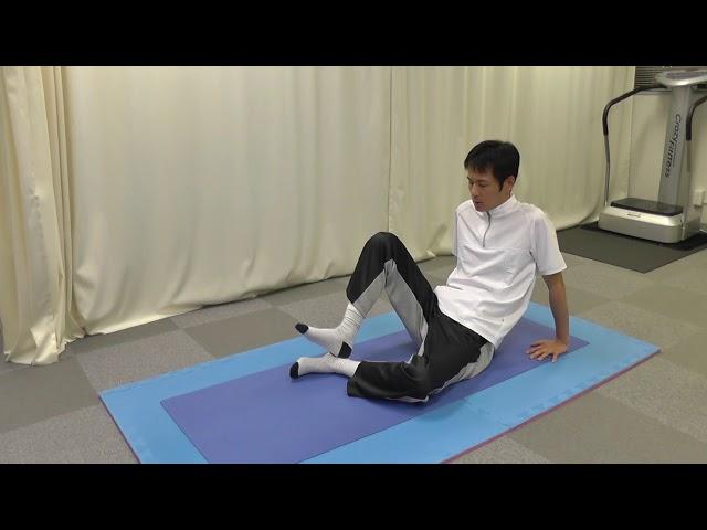 【セルフケア動画】ぎっくり腰の予防 3 『下腿の筋ゆる』