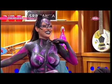 Gola Tamara Djuric - Ami G Show S09