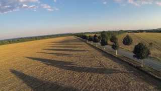 Voesendorf Austria  City new picture : Quadcopter flight at Schoenbrunner Allee, Voesendorf, Austria