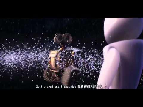 [很好聽又感人的影片,值得一聽喔]My Prayer Wall-E 版 中英字幕 --