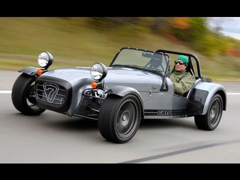 Caterham SUPERLIGHT R400 2008 Caterham 7 Superlight R400 - CAR and DRIVER