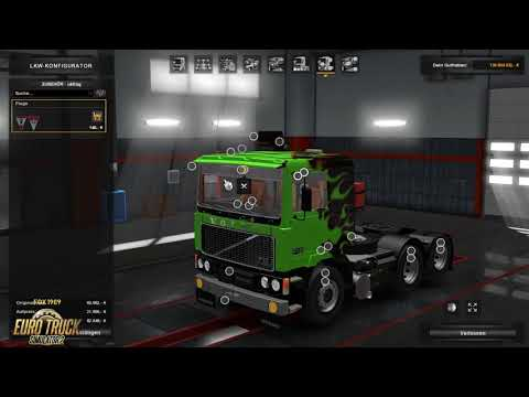 Volvo F10/F12 edit by mjtemdark for v1.30