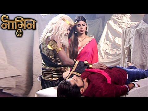Shivangi SAVES Rocky's Life From Mahishasur | Naag