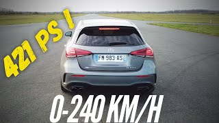 Mercedes-AMG A45 S : awesome acceleration ! by Motorsport Magazine