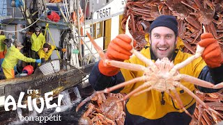 Video Brad Goes Crabbing In Alaska (Part 1) | It's Alive | Bon Appétit MP3, 3GP, MP4, WEBM, AVI, FLV Agustus 2018