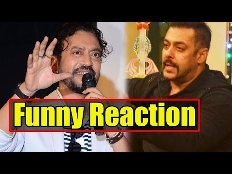 Irrfan Khan's FUNNY Reaction When Asked About Salm
