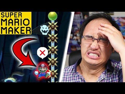 MA PLUS GROSSE RAGE POUR UN SPEED RUN ! | Super Mario Maker (видео)