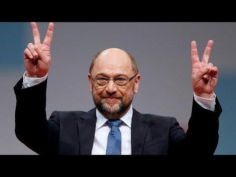 Γερμανία: «Πράσινο» φως στον Σουλτς για συνομιλίες με τη Μέρκελ