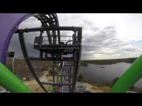 Six Flags Tests New Rollercoaster 'The Joker'