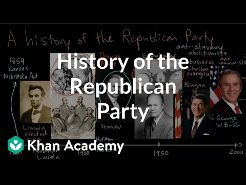 History of the Republican Party | American civics | US government and civics | Khan Academy