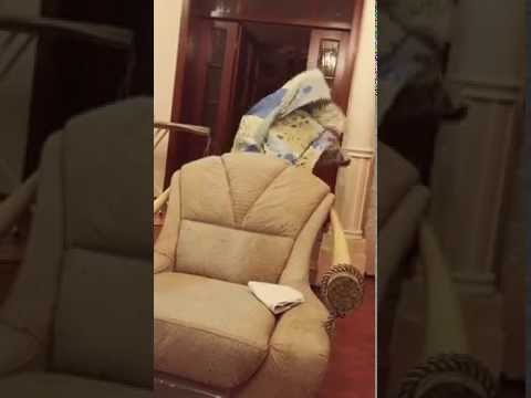 Шок человек исчез на видио (видео)