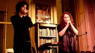 Regina Spektor feat. Jack Dishel - Hotel Song live at Housing Works, NYC