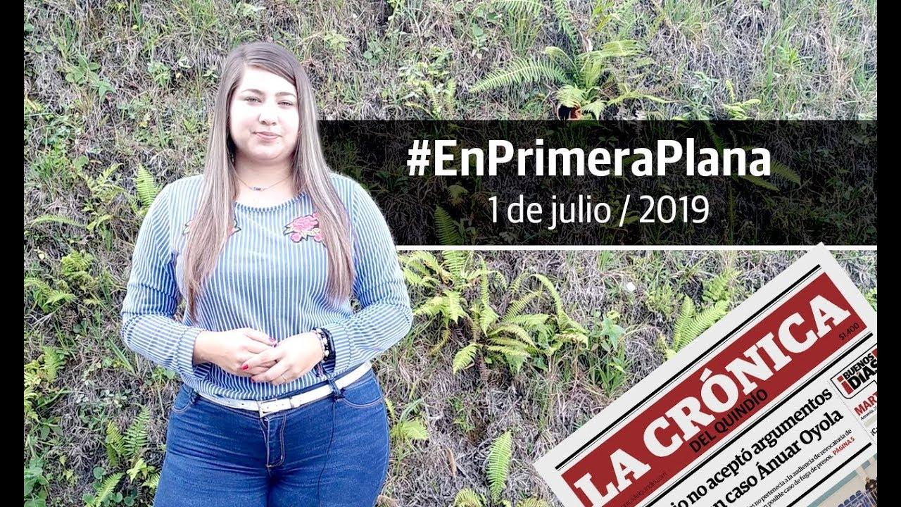 En Primera Plana: lo que será noticia este viernes 2 de agosto