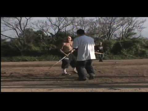 FELONY FIGHTS 6.6 WHITE SKINHEAD vs. Karate Kid! eats his face!