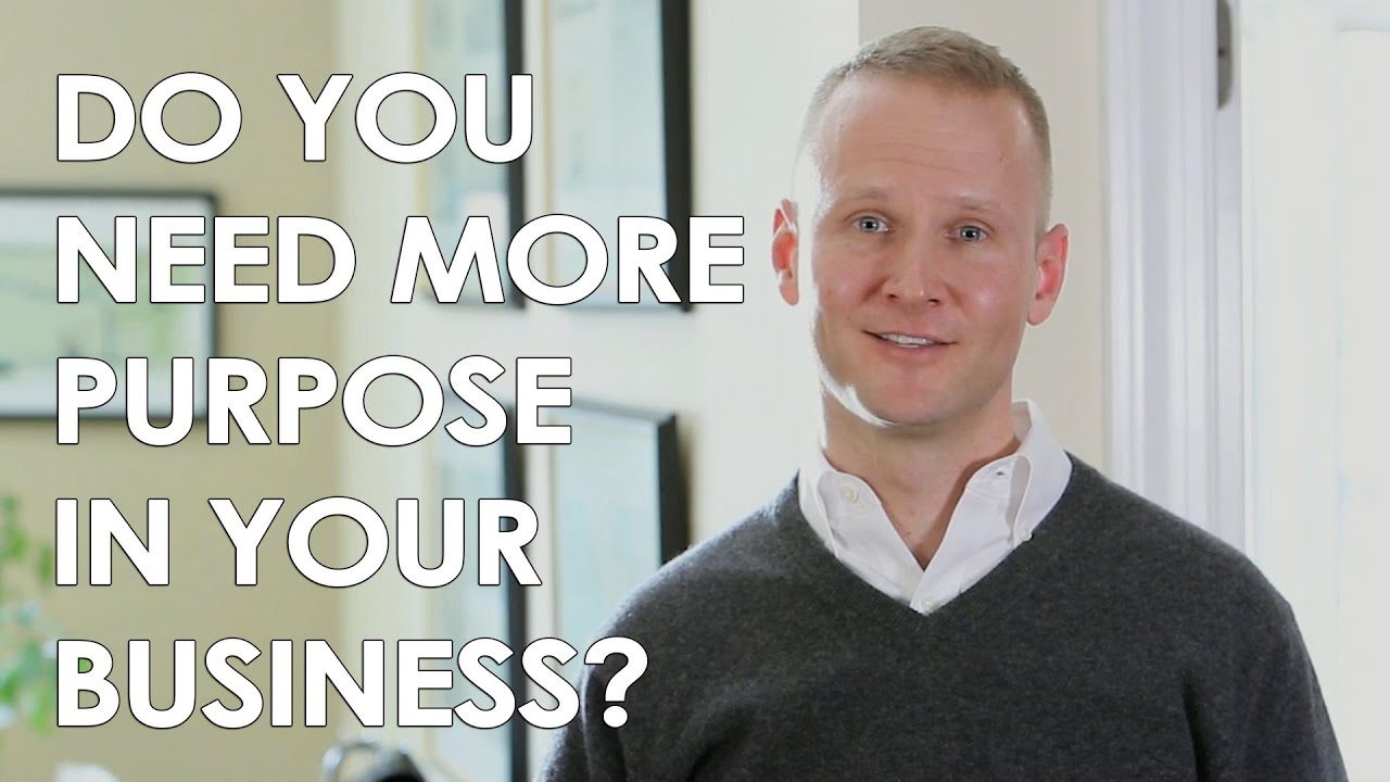The Importance of Finding Purpose in Your Business