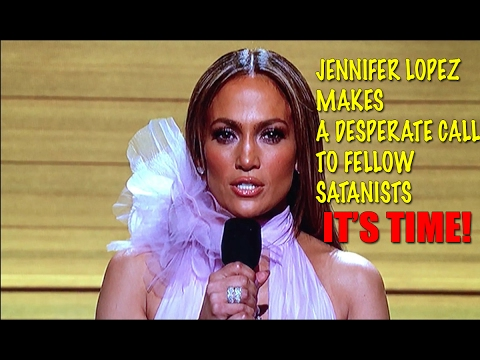 Jennifer Lopez Desperately calls to Fellow SATANISTS as she Breaks Down Emotionally
