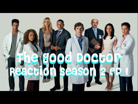 Blind Reaction to The Good Doctor Season 2 Ep  1 Hello