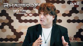 Turilli / Lione Rhapsody - Interview Luca Turilli - Paris 2019 - Duke TV