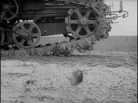 the world�s first caterpillar track 1908 bfi tube aeiou