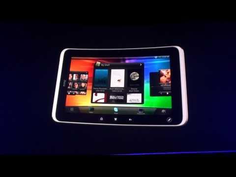 MWC 2011   tiskovka HTC   tablet HTC Flyer