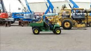 8. Sold! 2006 John Deere Gator Turf TX ATV UTV Utility Dump Cart bidadoo.com