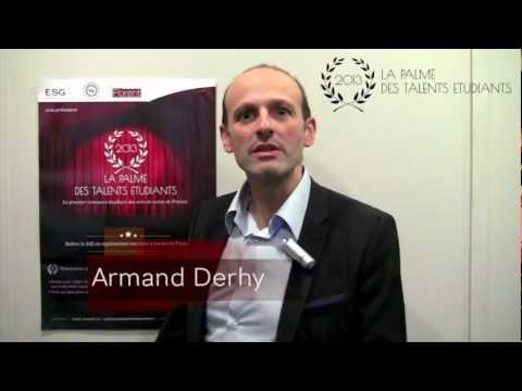 Palme des Talents Etudiants - Jury n°2: Armand Dehry